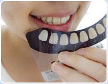第五步:调整牙色